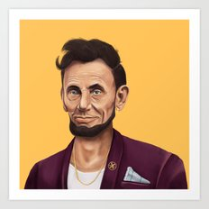 Hipstory -  Abraham Lincoln Art Print