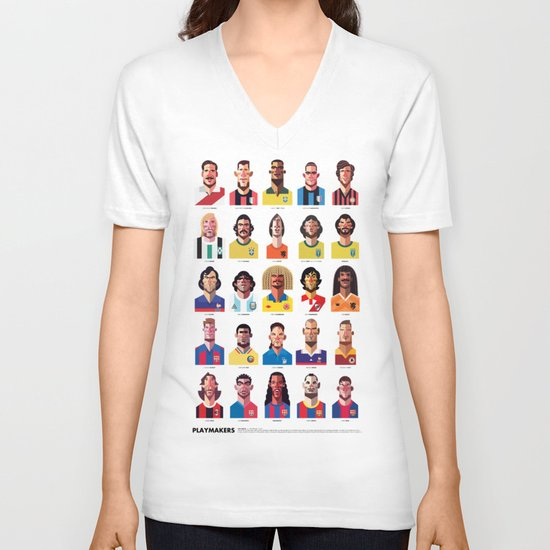 Playmakers V-neck T-shirt