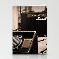 Indie Rock Show Stationery Cards