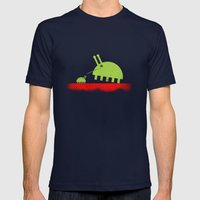 DAVID AND GOLIATH BUGS Mens Fitted Tee Navy SMALL