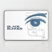 BLADE RUNNER (White - Voight Kampf Test Version) Laptop & iPad Skin