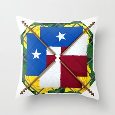 Altered State: TX Throw Pillow