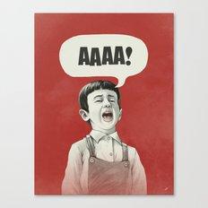 AAAA! Canvas Print
