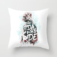 Respect the Dark Side Vader Throw Pillow