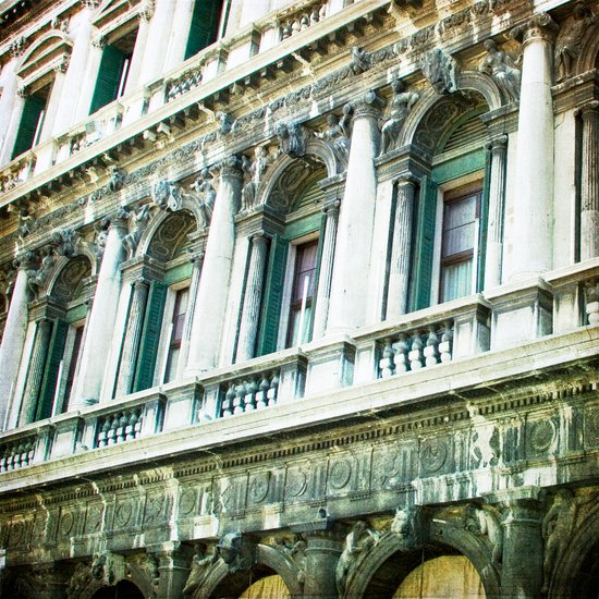 The Facade - Venice Art Print