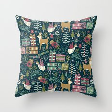 Christmas Joy Throw Pillow