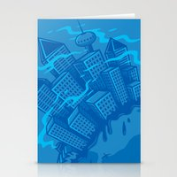 Dying planet Stationery Cards