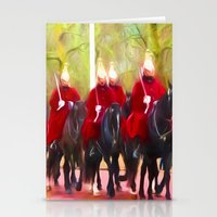 The Queens Life Guards O… Stationery Cards