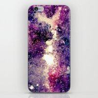 Watercolor Galaxy iPhone & iPod Skin
