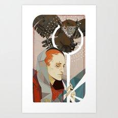 Ostwick Circle Art Print