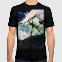 Impending Crossroads Mens Fitted Tee Black SMALL