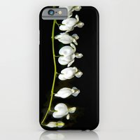 White bleeding hearts iPhone 6 Slim Case