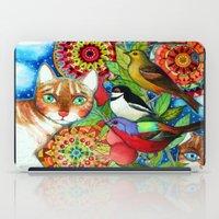 the mandala garden iPad Case