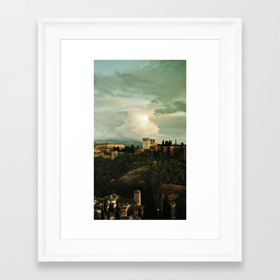 Up on the Hill  II Framed Art Print