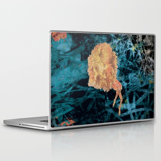 Something on Her mind.. Laptop & iPad Skin