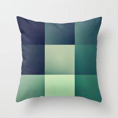 :: geometric maze XI :: Throw Pillow