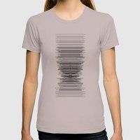 reception Womens Fitted Tee Cinder SMALL
