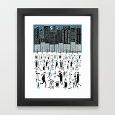 New York Skate Of Mind Framed Art Print
