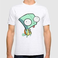 GIR Squirtle  Mens Fitted Tee Ash Grey SMALL