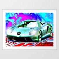 Mercedes Art Print