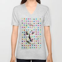 VENUS IN HIRSTIAN DOTS Unisex V-Neck