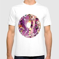 Glow Mens Fitted Tee White SMALL