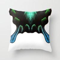 Green Swallowtail Butter… Throw Pillow