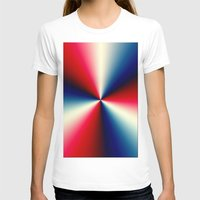 T-shirt featuring Red, White & Blue by Chris' Landscape Images & Designs