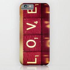 Love is a Beautiful Word II iPhone 6s Slim Case