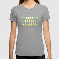 Home Alone (Rule of Threes) Womens Fitted Tee Tri-Grey SMALL