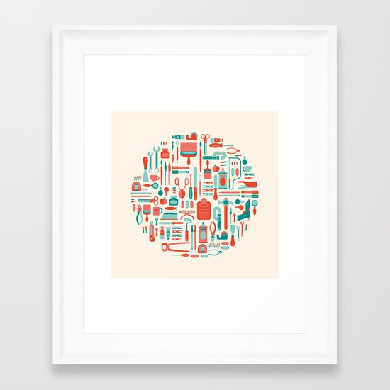 Il Laboratorio Framed Art Print