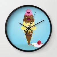 Cherry Dead Wall Clock
