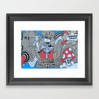 FF:Body Part II Framed Art Print