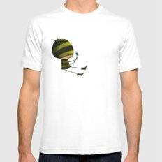 I like Birds White Mens Fitted Tee SMALL