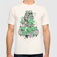 Mona Lisa Mens Fitted Tee Natural SMALL