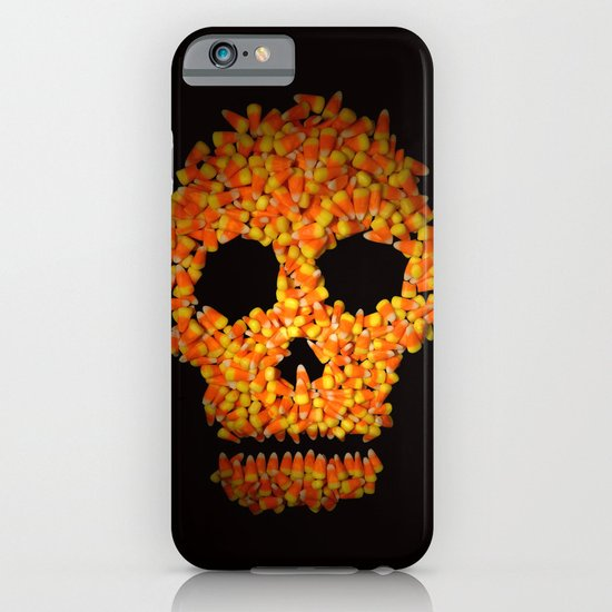 Candy Corn Skull iPhone & iPod Case