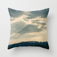 Hazy Summer Afternoon 1 Throw Pillow