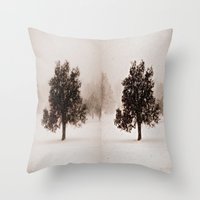 The Loner II Throw Pillow