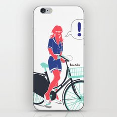 LE COOL GAL iPhone & iPod Skin