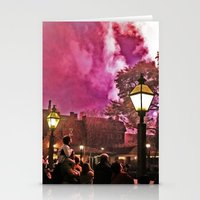 Firework Haze Stationery Cards