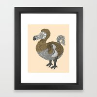 Dodo Framed Art Print