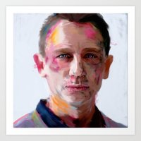 Daniel Craig Art Print