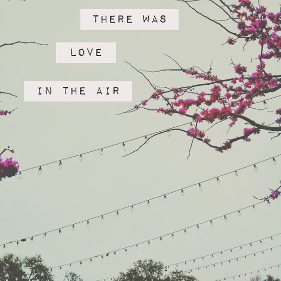there was love in the air Art Print