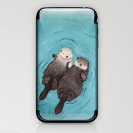 Otterly Romantic - Otter… iPhone & iPod Skin