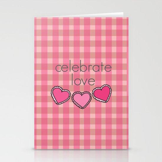 Celebrate Love! Stationery Card