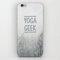 Yoga Geek iPhone & iPod Skin
