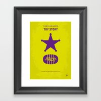 No190 My Toy Story Minim… Framed Art Print