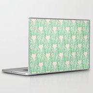 Monstera Pattern Laptop & iPad Skin