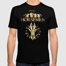 Horsemen Black Mens Fitted Tee SMALL