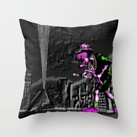 Fear and Loathing EDM Throw Pillow